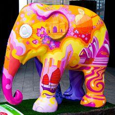 Elephant Parade by Tristan27, via Flickr