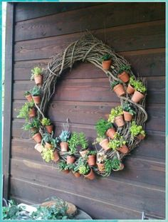 Garden Yard Ideas, Garden Crafts, Garden Projects, Garden Pots, Flower Pot Crafts, Clay Pot Crafts, Cacti And Succulents, Planting Succulents, Fleur Design