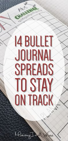 14 Bullet Journal Spreads to Stay on Track