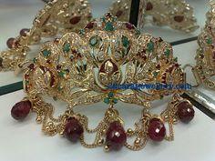Jewellery Designs: Diamond Armlet(Baju Bandh) Designs