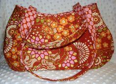 Manhattan Handbag  Fabulous Fabric by aModernMomm on Etsy, $28.00