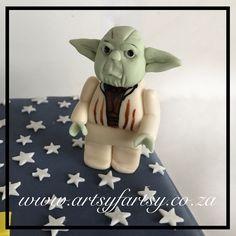 Lego Yoda Cake Topper #legoyodacaketopper Yoda Cake, Cupcake Cakes, Cupcakes, Star Wars Cake, Lego Cake, Cake Toppers, Teddy Bear, Toys, Activity Toys