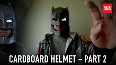 Armored Batman aka Mech Suit Helmet DIY (free PDF template)