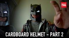 Armored Batman aka Mech Suit Helmet DIY (free PDF template)