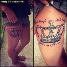 Tatuajes De Coronas Jpg Pictures to pin on Pinterest