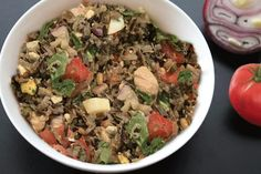 Recipe finalist Wild Rice & Pork Salad Gribiche, by Roxanne Chan, is up for our People's Choice award! Visit our website, check out the recipes & vote your fav by Sept 30. #wildrice #wildricecontest #rusticfood #pork #wildricesalad Wild Rice Salad, Pork Salad, Cooking Contest, Salad Recipes, Salads, Beef, Website, Check, Food