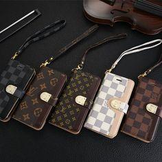 ルイヴィトン iPhone7/7 plusケース 手帳型 LV Galaxy s7 edgeカバー ノート型  レザー製 アイフォンSE/ギャラクシー S6携帯ケース 芸能人愛用 カード収納 スタンド