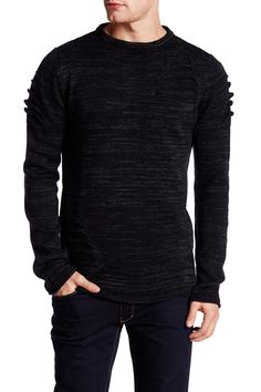 Long Sleeve Cut-Out Sweater