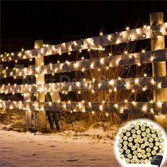 Net Lights, Led Fairy Lights, Garden Fairy Lights, Globe String Lights, Solar String Lights, Luz Natural, Bird Fountain, Digital Foto, Luz Solar