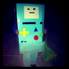 How to Make an Adventure Time BMO Costume - Comic Con Family