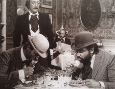 BUD SPENCER & TERENCE HILL eating, mangiare, ...
