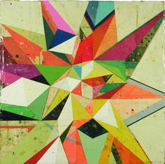 Jason Rohlf. #Colorful #abstract #art