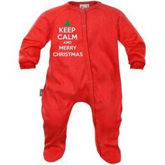 Pyjama bébé : Keep Calm and MERRY CHRISTMAS