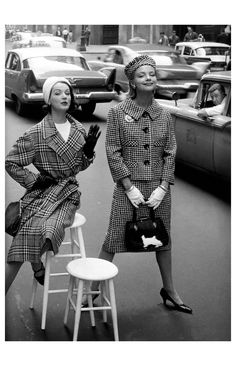 Уильям Хэлбёрн - модный глянец 1950-60-х...на фоне авто — Живой Журнал