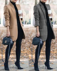 - Outfits for Work - Work Outfits Women - Outfits for Work - Business Outfits for Work Office Outfits Women, Casual Work Outfits, Winter Outfits For Work, Business Casual Outfits, Professional Outfits, Winter Fashion Outfits, Mode Outfits, Work Casual, Work Fashion