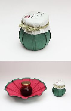 Simple, yet beautifully designed jam jar packaging. Sugar Packaging, Honey Packaging, Cool Packaging, Paper Packaging, Brand Packaging, Gift Packaging, Glass Packaging, Flower Packaging, Packaging Ideas