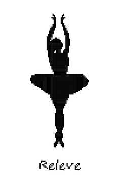 Hey, I found this really awesome Etsy listing at https://www.etsy.com/listing/161994108/ballet-position-releve-wall-art-cross