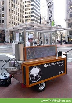 Gourmet Street Food in San Francisco: Creme Brûlée