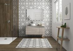 Modern Bathroom Tile Design, Trends 2020 Modern bathroom design trends offer spectacular tiles for decorating walls and floors in 2020 Modern Bathroom Tile, Bathroom Tile Designs, Diy Bathroom Decor, Bathroom Colors, Bathroom Interior, Small Bathroom, Bathroom Storage, Bathroom Ideas, Bathroom Organization