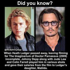 Colin Farrell, Heath Ledger, Jude Law, Music Photo, Passed Away, Johnny Depp, Films, Movies, Cinema
