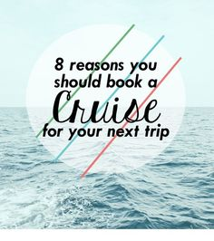8 Reasons you should book a cruise for your next trip » Weekend Tempo.com