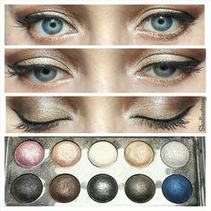 #sparkly #makeup with #elfcosmestics
