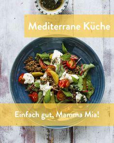Mediterrane Rezepte und Spezialitäten Mamma Mia, Marley Spoon, Mediterranean Recipes, Mediterranean Style Kitchen Designs, Cooking, Simple, Essen