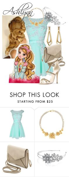 """""""ever after high"""" by didneyworl ❤ liked on Polyvore featuring Marc by Marc Jacobs, C. Wonder, Kate Spade, Bling Jewelry and Oscar de la Renta"""
