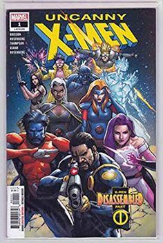 Uncanny X-Men #1 (2018) Leinil Francis Yu Cover: Uncanny X-Men Vol. 5: Amazon.com: Books Marvel Comic Books, Marvel Comics, Nate Grey, X Men Evolution, The Uncanny, Star Wars, Marvel Entertainment, Comic Covers, Fiction Books