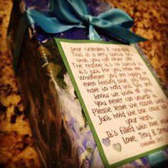 Gift for grandparents far away
