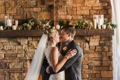 Rustic Winter Wedding at Hermitage Golf Course   Old Hickory, TN