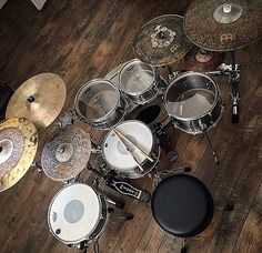 From @lovecustomdrums and @meinlcymbals. Is be more than impressed if Santa got this down the chimney. #drummersjournal #tdj #drums #drummers #drumming #customdrums
