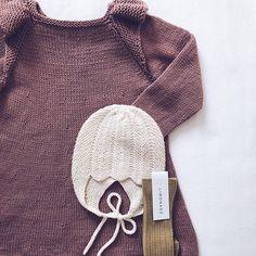 @millefrydknitwear Edith Kjole & Vintergæk Hue Kjolen er strikket i Sandnes Duo som er et blandingsgarn med uld og bomuld og helt perfekt til at bruge her i foråret og Vintergæk er strikket i alpakka silke Find begge opskrifter i min opskrifts butik —> der er link i profil