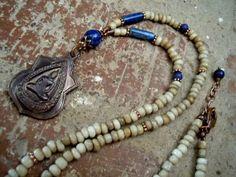 Yoga Necklace / Buddha Necklace / Yoga Jewelry / by Syrena56, $39.00