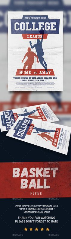 Cinema Flyer Template Flyer template, Cinema and Event flyers - basketball flyer example