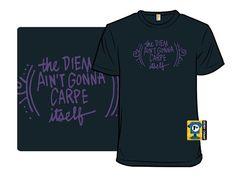 carpe diem - Shirt.Woot. My bleach pen tshirt to-do list