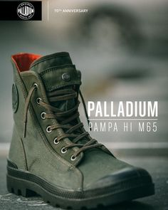 "301 Likes, 11 Comments - Palladium Boots - Philippines (@palladiumbootsph) on Instagram: ""NEW ARRIVAL: Our Pampa Hi M65 Hi takes design cues from one of the most iconic military garments…"""