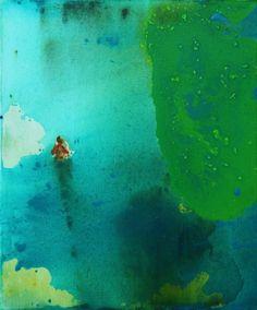GRAŻYNA SMALEJ Bartek 2013 - acrylic and oil on canvas