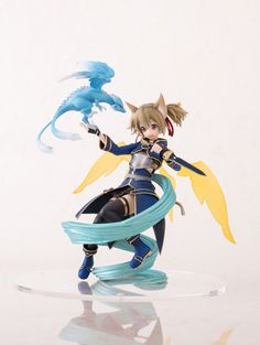 Sword Art Online II Statue 1 8 Silica ALO Ver 18 Cm