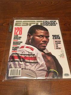 Cardale Jones Ohio State Buckeyes Hand Signed Autographed ESPN Magazine COA PAAS