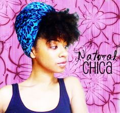 ANother Take on the Turban #natural Hair. I will have to try this
