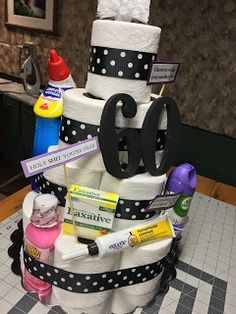 Homebody Happenings: Toilet Paper CAKE!