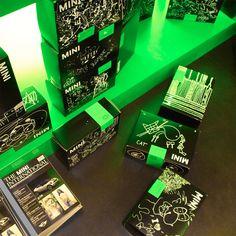 Sneakerness 2012 ► Kunde: Mini, Jahr: 2012, Tags: Konzept, Messestand, Logo, Live Kommunikation, Event, Architektur, Aktivierung.