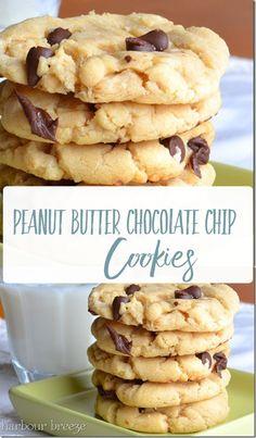 Favorite Cookie Recipe, Chip Cookie Recipe, Easy Cookie Recipes, Brownie Recipes, Baking Recipes, Easy Recipes, Favorite Recipes, Lunch Snacks, Homemade Chocolate
