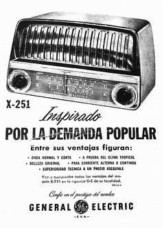 Antiguos avisos de receptores de radio en la Feria de Tristán Narvaja, Montevideo (4). | La Galena del Sur