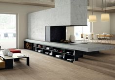#Inalco - #Prints_vestige series, #Slimmker_floor, #porcelain #wood