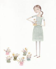Teacup Garden by Julianna Swaney