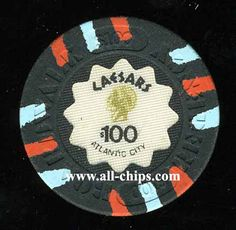 Atlantic City Casino Chip of the Day is a $100 Caesars 1st issue from the early 80s you can get here.  http://www.all-chips.com/ChipDetail.php?ChipID=17815