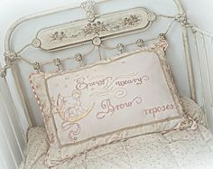 French Hand Sewing | Hand Work & Sewing / Antique French lit de béb́e, and hand ...