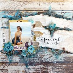 Special moments layout with Flying Unicorn May KOM